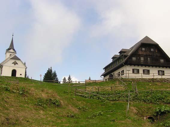 Gleinalmschutzhaus und Wallfahrtskirche Maria Schnee