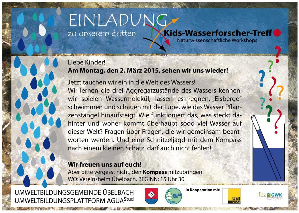 3. Einladung_KIDS-Wasserforschertreff