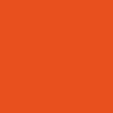 oranges Quadrat