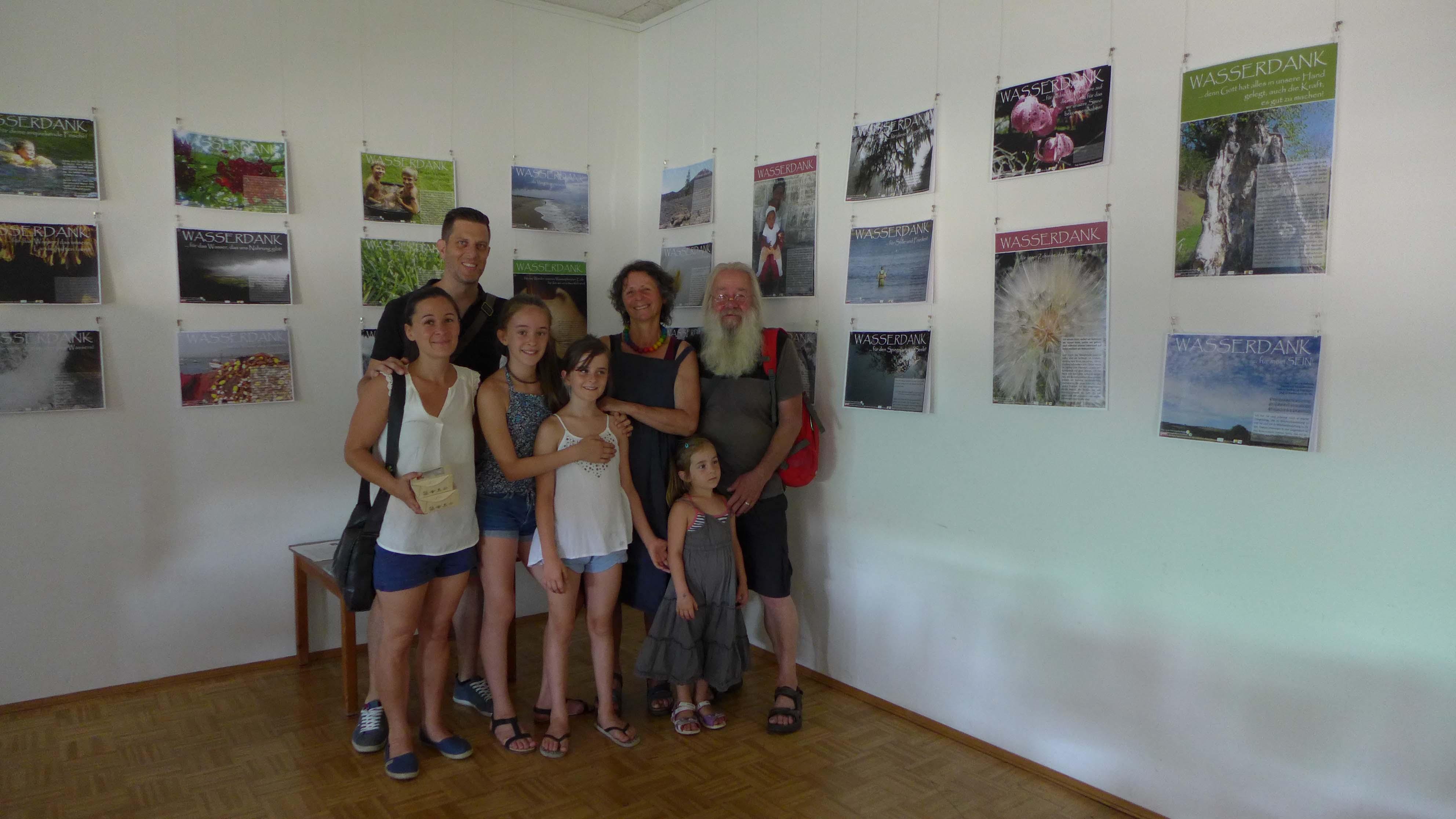 Angelika Riegler mit Familie