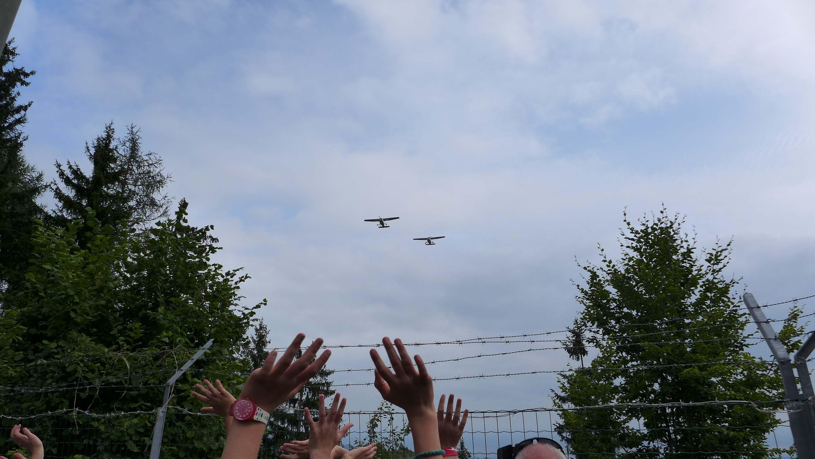 Die Hagelflieger kommen ...